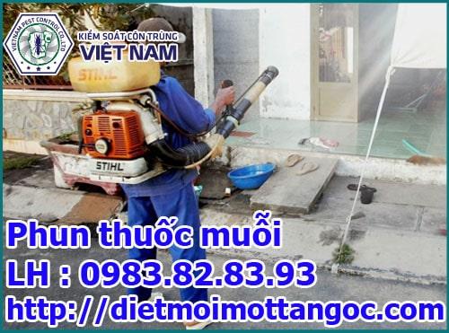 Dịch vụ phun thuốc muỗi