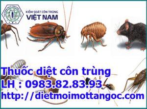 thuốc diệt côn trùng tốt nhất