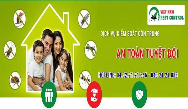 Vietnam Pest Control đơn vị uy tín, chất lượng chuyên diệt côn trùng tại nhà hiện nay